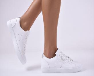 Дамски спортни обувки бели XDPJ-1014162