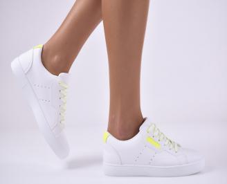 Дамски спортни  обувки  бели IUBO-1014172