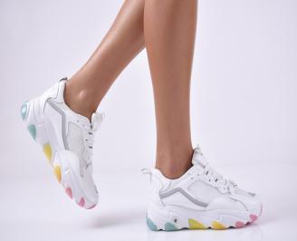 Дамски спортни обувки бели JSSC-1014185
