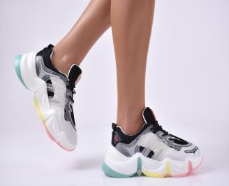 Дамски спортни обувки бели MXHG-1014187