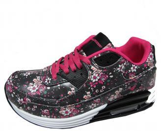 Дамски спортни обувки Bulldozer еко кожа шарени FXAA-22040