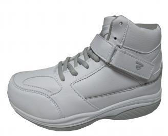 Дамски спортни обувки Bulldozer еко кожа бели YIJE-22043