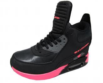 Дамски спортни обувки Bulldozer еко кожа черни MVVD-22045