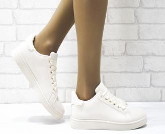 Дамски спортни обувки   Bulldozer еко кожа бежови VPPO-25093