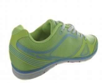Дамски спортни обувки Bulldozer зелени текстил LTTT-19098