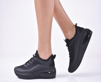 Дамски спортни  обувки   черни BGKY-1013254