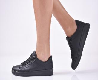 Дамски спортни  обувки   черни ZOSF-1013261