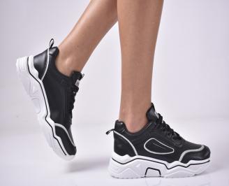 Дамски спортни  обувки  черни WQFJ-1013285
