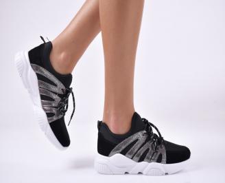 Дамски спортни  обувки  черни KATT-1013901