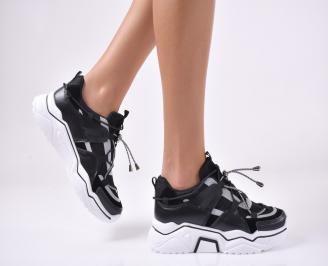 Дамски спортни  обувки  черни UNBM-1013947