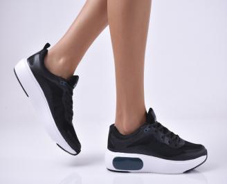 Дамски спортни обувки черни. HDSJ-1014020