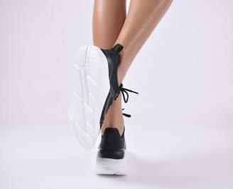 Дамски спортни обувки черни. WHXJ-1014027