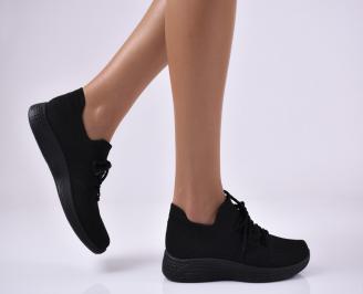 Дамски спортни обувки черни. DBWP-1014076
