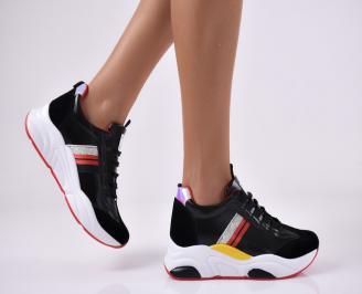 Дамски спортни обувки черни. SAKL-1014122