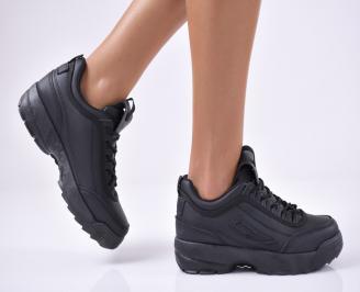 Дамски спортни  обувки черни LDIH-1014178