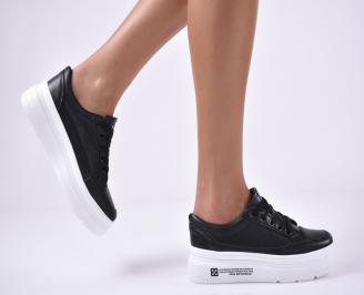 Дамски спортни обувки черни TZUW-1014188