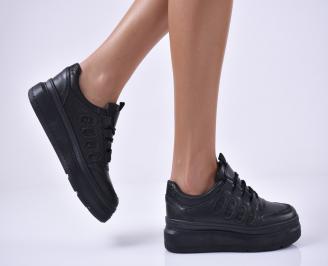 Дамски спортни обувки черни QVFZ-1014189