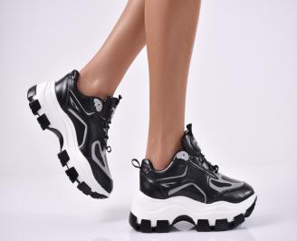 Дамски спортни обувки черни TTHQ-1014191