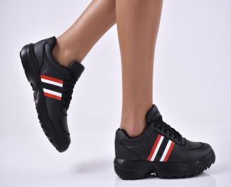 Дамски спортни обувки черни JHBL-1014205