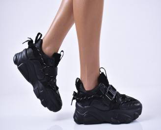 Дамски спортни  обувки  черни DRFJ-1014227