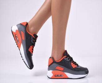 Дамски спортни  обувки  черни NHQI-1014277