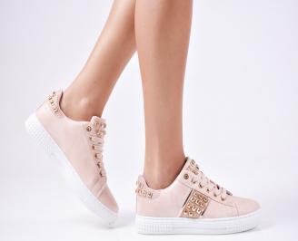 Дамски спортни  обувки еко кожа черни WGVY-1010294