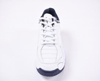 Дамски спортни  обувки еко кожа бели LMFE-1011168