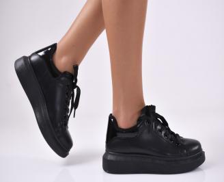 Дамски спортни  обувки еко кожа черни GPXD-1012762