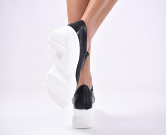 Дамски спортни  обувки еко кожа  черни SBEA-1012798