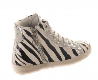 Дамски  спортни обувки  еко кожа QDEE-16176