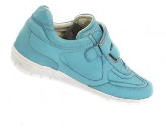 Дамски спортни обувки от естествена кожа FDUX-10384