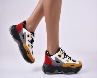 Дамски спортни обувки шарени. LJQJ-1014128