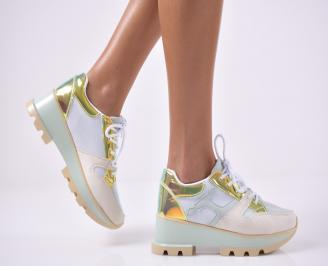 Дамски спортни  обувки  шарени IKZR-1014222