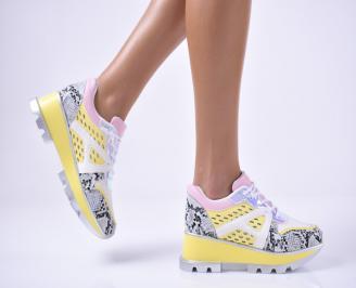 Дамски спортни  обувки  шарени JHCA-1014229