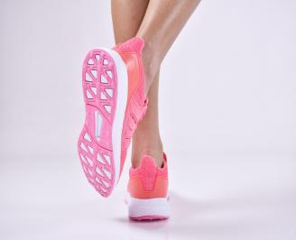 Дамски спортни  обувки текстил  розови ZWFS-1011151