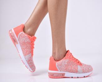 Дамски спортни  обувки текстил  розови VIKV-1011159