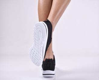 Дамски спортни  обувки текстил черни AEAE-1011167