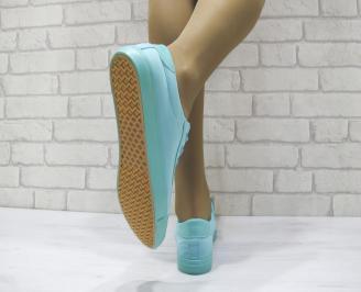 Дамски спортни обувки текстил тюркоаз GPTP-23058