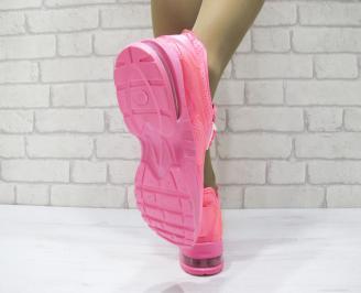Дамски спортни обувки текстил розови PHGE-23062