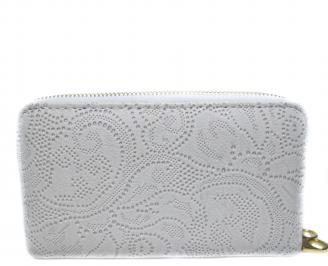 Дамско портмоне еко кожа бяло SKAS-20156
