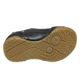 Детски маратонки Bulldozer еко кожа черни OFPI-12870