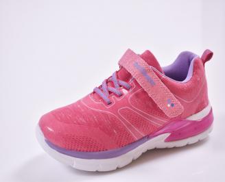 Детски маратонки  текстил розови CJGO-26839