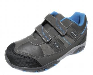 Детски обувки Bulldozer  сиви  еко кожа SINV-20010