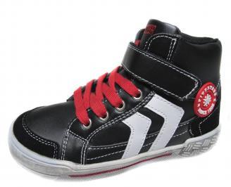 Детски обувки Bulldozer черни еко кожа YQTW-20022