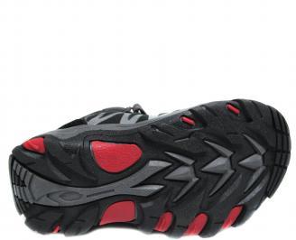 Детски обувки Bulldozer черни еко кожа ZMCG-20024