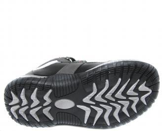 Детски обувки Bulldozer черни еко кожа SRRN-20033