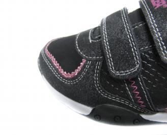 Детски обувки Bulldozer черни еко кожа 4