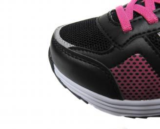 Детски обувки Bulldozer еко кожа,текстил черно UJAO-21106