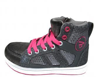 Детски обувки Bulldozer еко кожа сиви IDNL-22031
