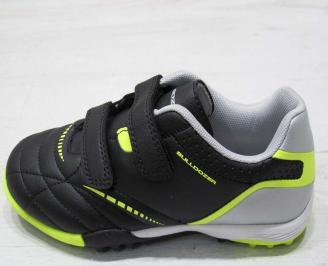 Детски обувки Bulldozer черни еко кожа HFUR-23211